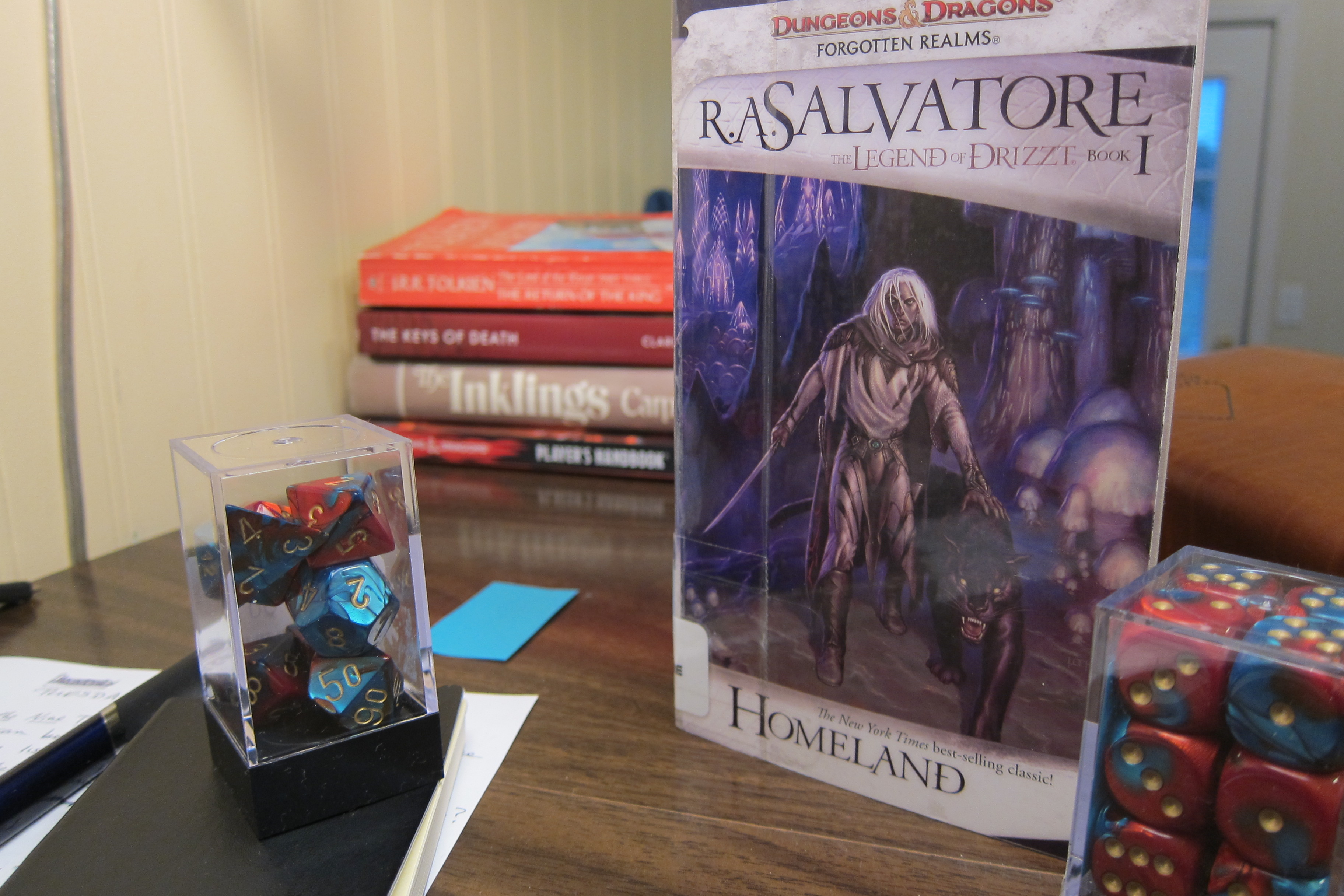 book review: Homeland by R A  Salvatore