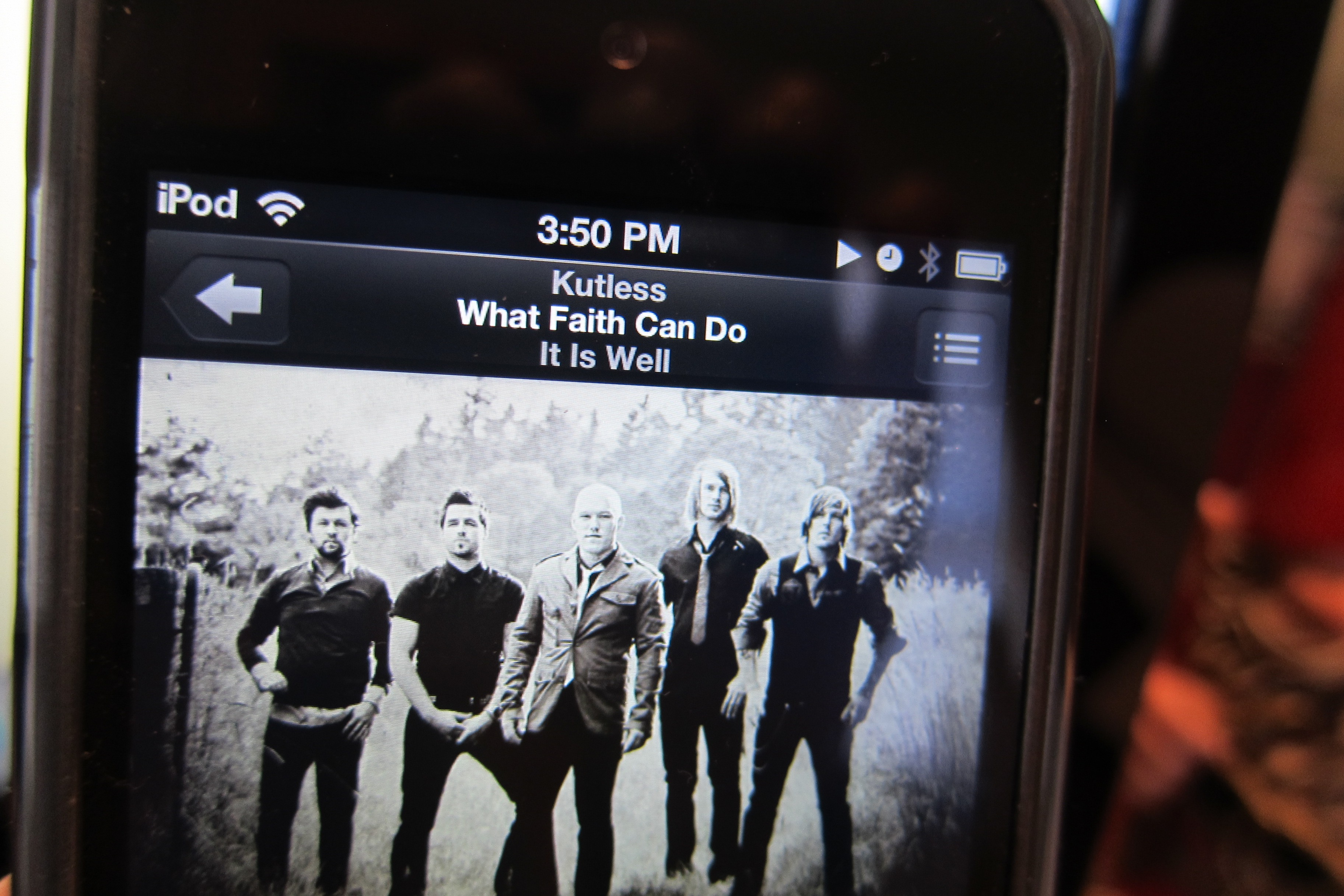 """What Faith Can Do"" Kutless album: It Is Well"