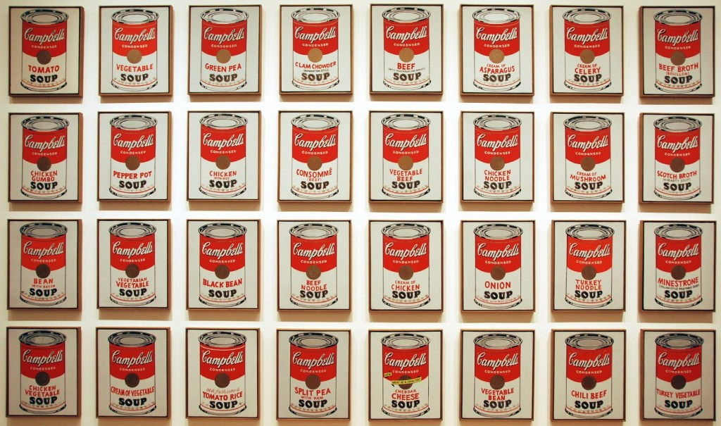 MOMA 22 Andy Warhol Campbell's Soup Cans
